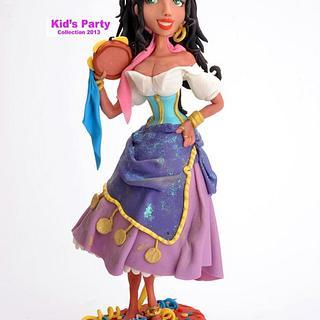 Esmeralda - Cake by Maria  Teresa Perez