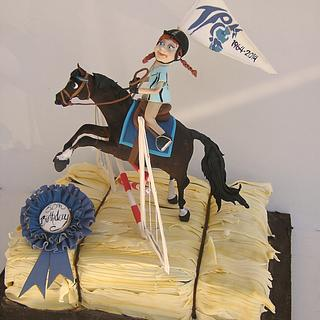 Pony Club - Cake by Louisa Massignani