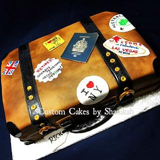 Retiring in Style - Cake by Shanikah Fernando
