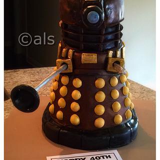 Dalek - Cake by ALotofSugar