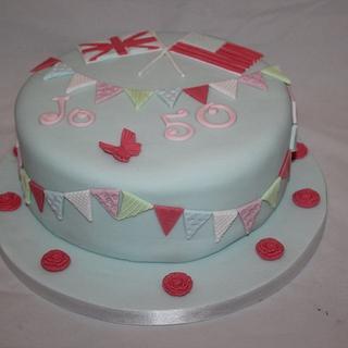 Cath Kidston Flag Cake
