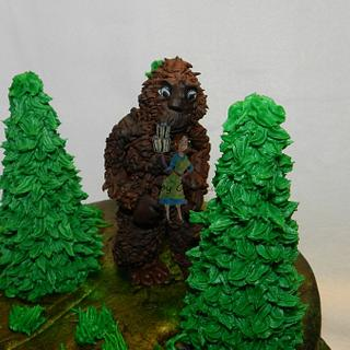 Duck Dynasty - Finding Big Foot Cake - Cake by Jaclyn