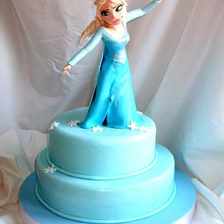 Elsa for my Little Thalia
