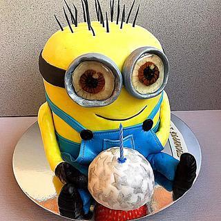 3D Minion - Cake by Julia