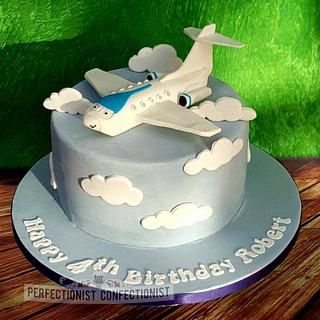 Robert - Jeremy the Plane Birthday Cake - Cake by Niamh Geraghty, Perfectionist Confectionist