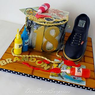 Brandon's 18th birthday