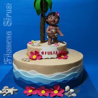 Oceania Disney cake