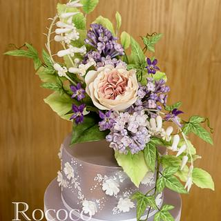 LOTR-inspired Sugar Flowers