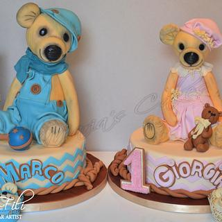 Vintage Teddy bear's