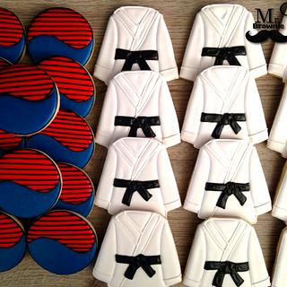 Martial Arts Cookies