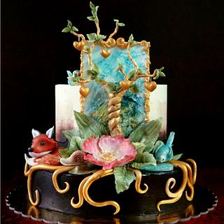 family tree for old mom - Cake by Torty Zeiko