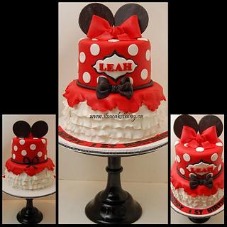 Original Minnie Inspired Cake