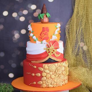 Riddhi siddhi - Cake by divya saraf