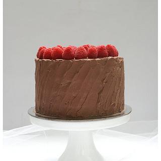 my rustic raspberry! - Cake by Patricia Tsang