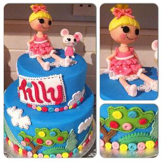 Lalaloopsy  - Cake by Nicky Gunn