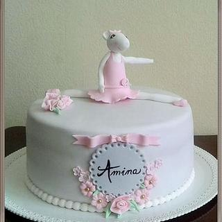 Angelina ballerina - Cake by GigiZe