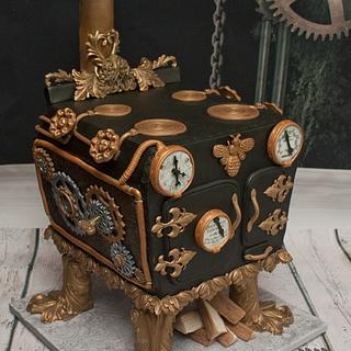 Steampunk Oven for Steampunk Sugargeeks