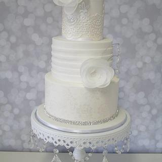 Wedding Dress Cake - Cake by cjsweettreats