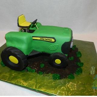 John Deere grooms cake
