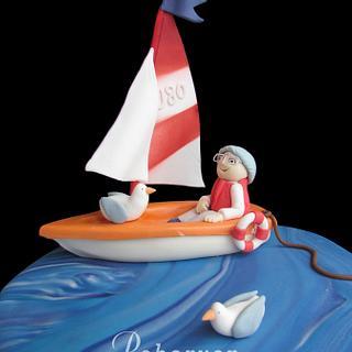 Beside the seaside - Cake by Peboryon