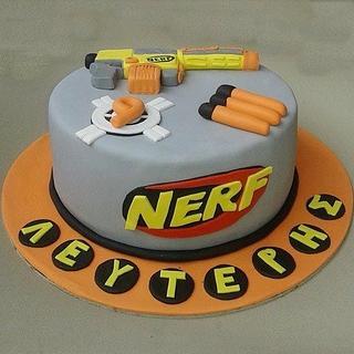 NERF cake - Cake by Maria Tsilinikou
