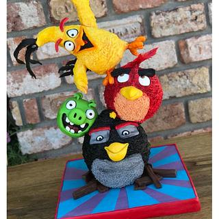Angry Birds Cake - Cake by Şule