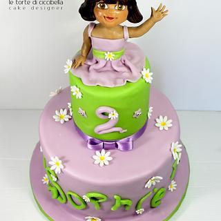 Dora - Cake by Le Torte di Ciccibella