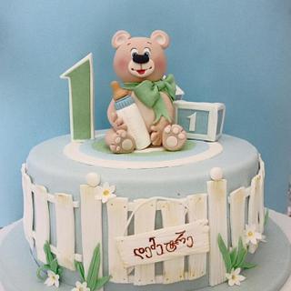 teddy bear cake - Cake by Casta Diva