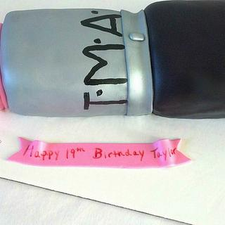 MAC Lipstick Birthday Cake