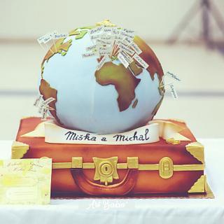 Travel WeddingCake