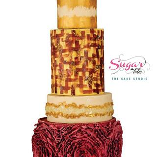 Country theme wedding cake - Cake by Sugar Tales