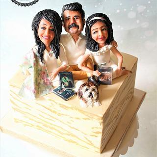 The Family Potrait (Sugar Caricatures)