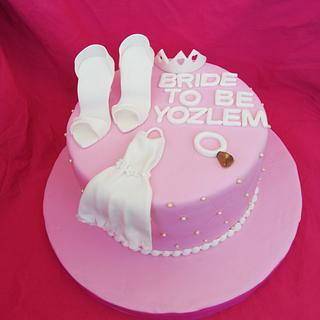Торта за моминско парти!