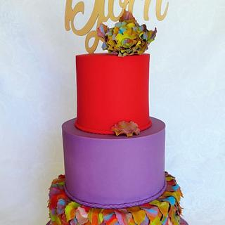 Kaleidoscope of colors - Cake by Cakes Inspired by me