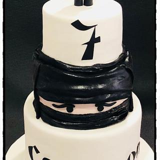Ninja!! - Cake by Rhona