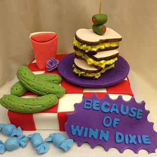 Because of Winn Dixie cake