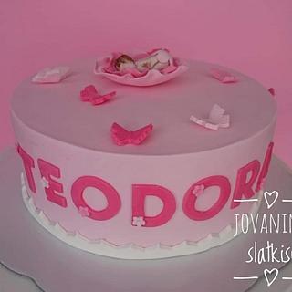 Christening cake - Cake by Jovaninislatkisi