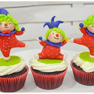 Carnival - Circus Theme  - Cake by Hopechan