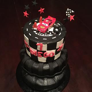 Cars tire cake  - Cake by Cakes by Crissy