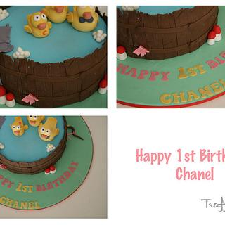 rubber duck pond - Cake by Patricia Tsang