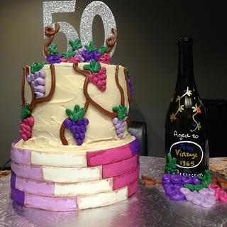 Aged to Perfection Wine cake