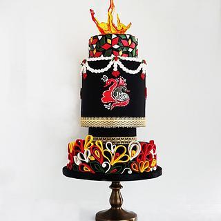 Black Splendour - Cake by Rose