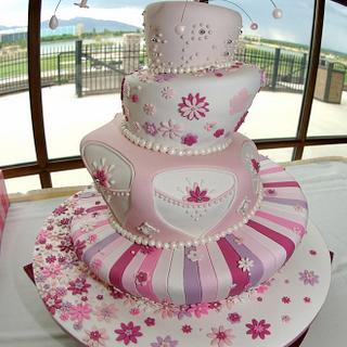 Quinceañera cake!
