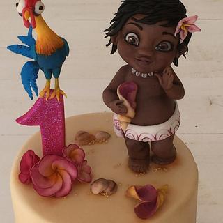 Baby Moana cake - Cake by Loredana Atzei
