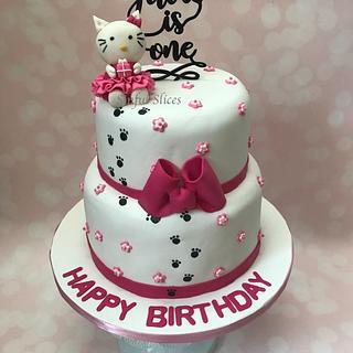 Hello Kitty Themed Cake
