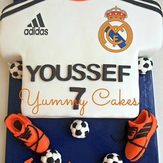 Real Madrid T-Shirt cake