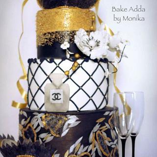 """All that glitters"" - Cake by Monika Srivastava"