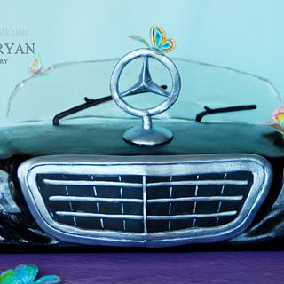 Mercedes Benz Logo cake - our vision)