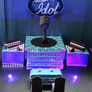 Caker Buddies Collaboration : Theme Sitcoms : Indian Idol - Cake by Ankita