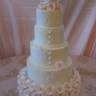Angelique Wedding Cake